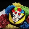 Day of the Dead Fondant Cupcake Tutorial