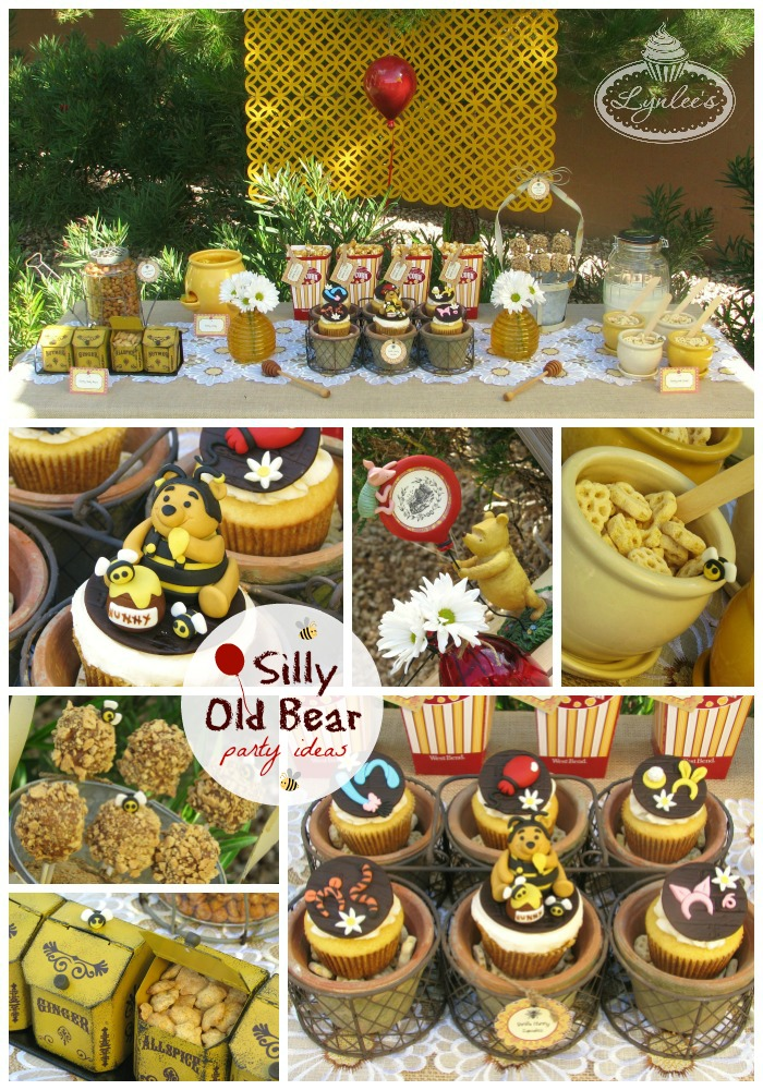 Silly Old Bear ~ Winnie the Pooh party ideas ~ Lynlee's