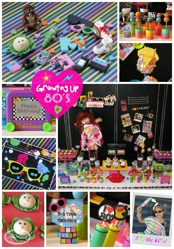 Growing Up 80's Totally Awesome party ~ Lynlee's