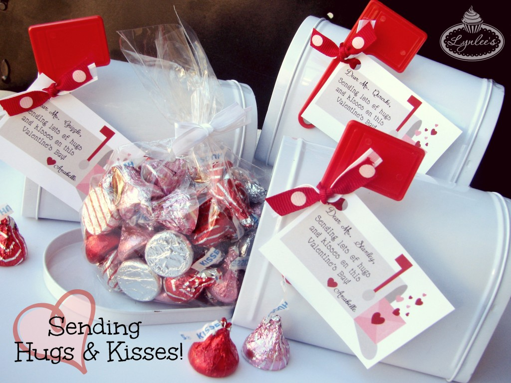 Hugs & Kisses Valentine Ideas ~ Lynlee's
