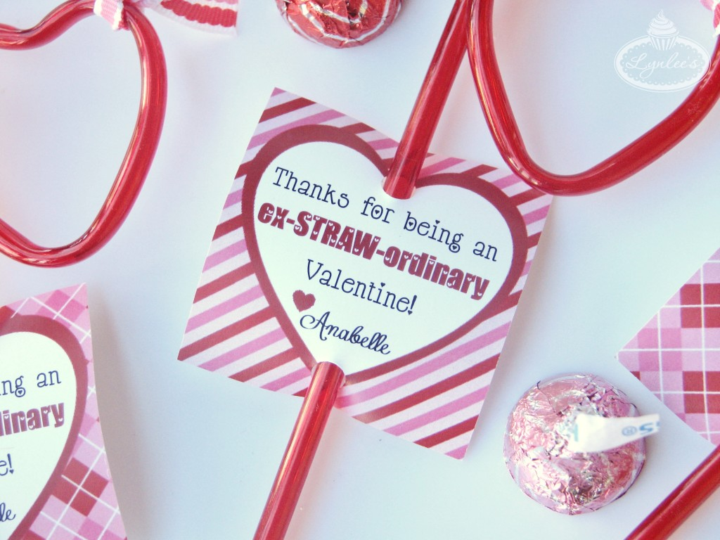 Ex-STRAW-ordinary Valentine classroom gift ~ Lynlee's