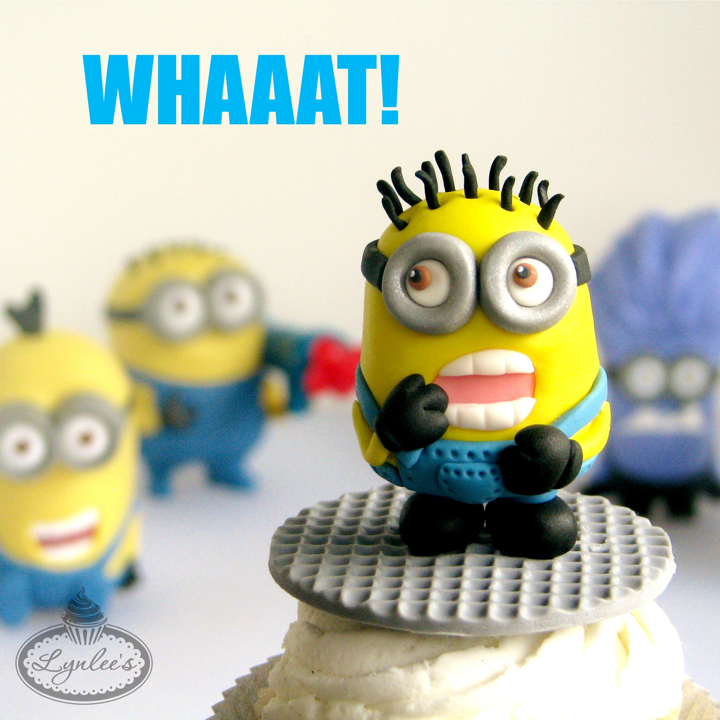 Fondant minion tutorial for craftsy lynlees fondant minion baditri Image collections