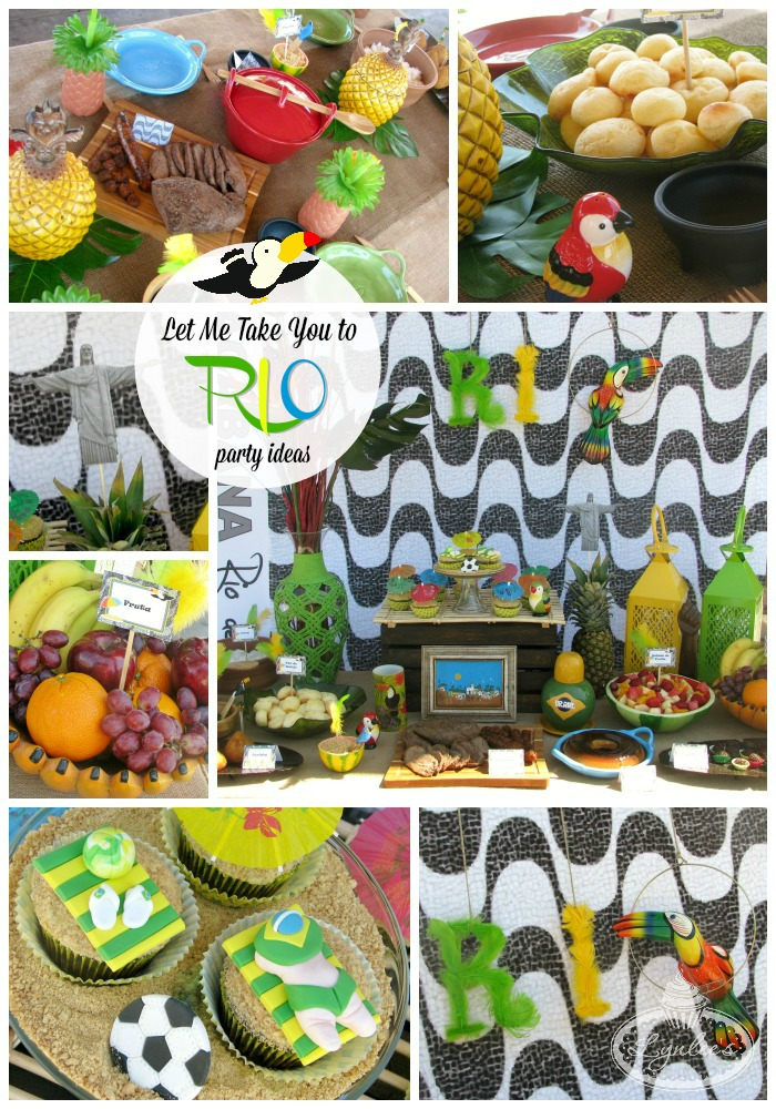 Let Me Take You to Rio Party ~ Lynlee's
