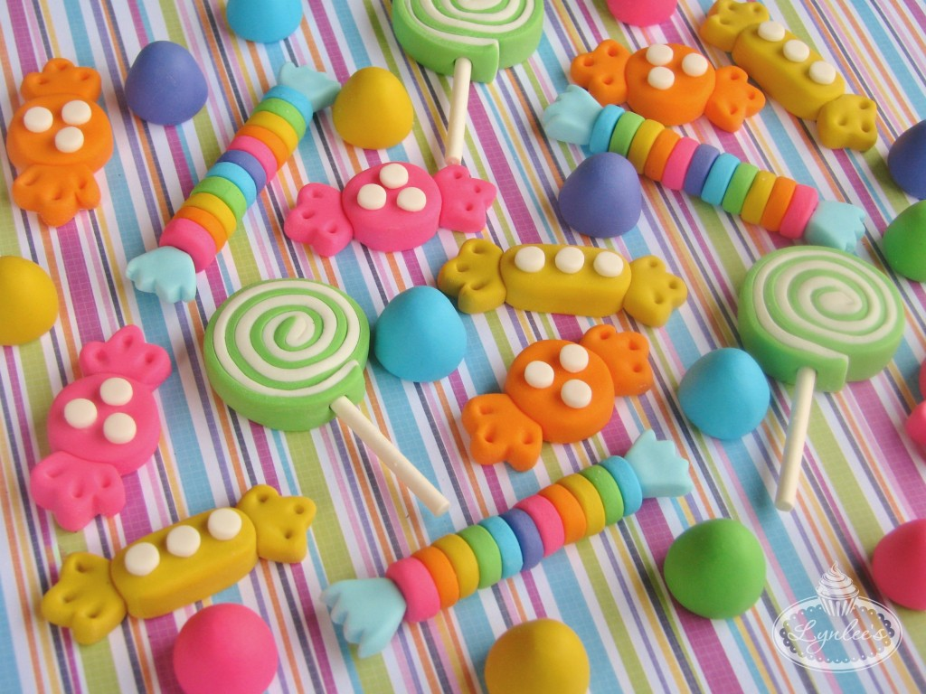 Fondant Candy Toppers