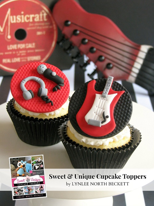 Sweet & Unique Cupcake Toppers Book