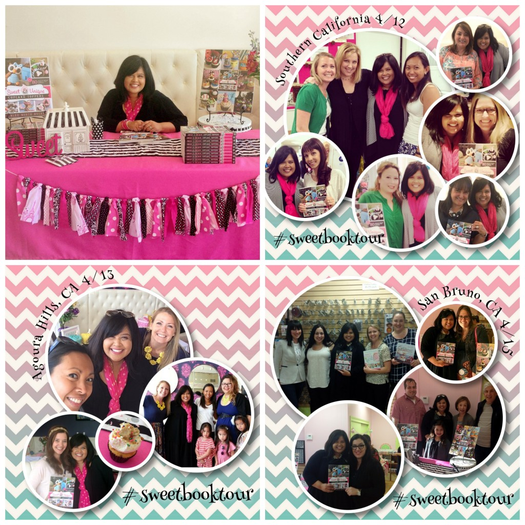 Sweet Book Tour collage 2