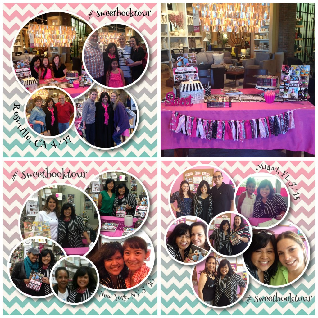 Sweet Book Tour collage 3