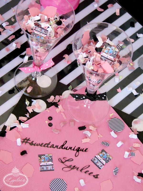 Sweet & Unique Book Release Party Confetti