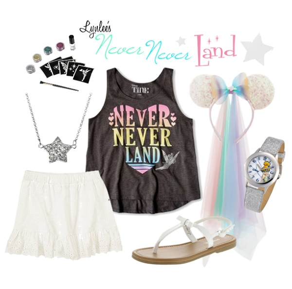 Never Never Land Disney Outfit