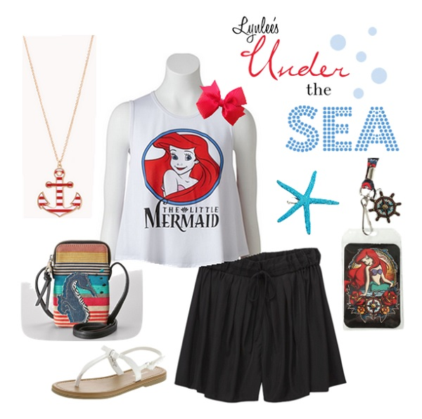 Under the Sea Disney Outfit