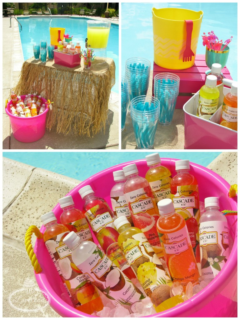 Endless Summer surf party beverages ~ Lynlee's