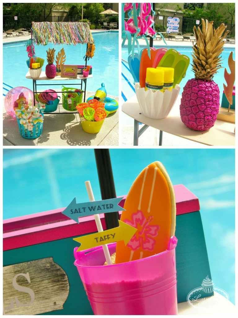 Endless Summer surf party stand ~ Lynlee's
