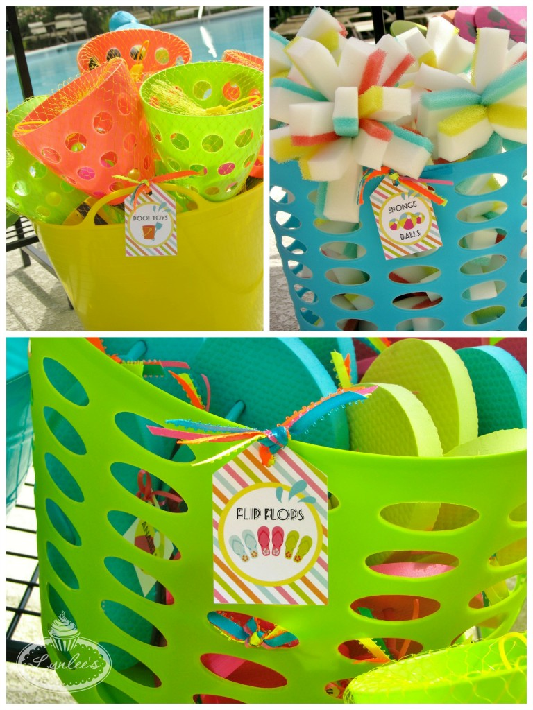 Endless Summer surf party favors ~ Lynlee's