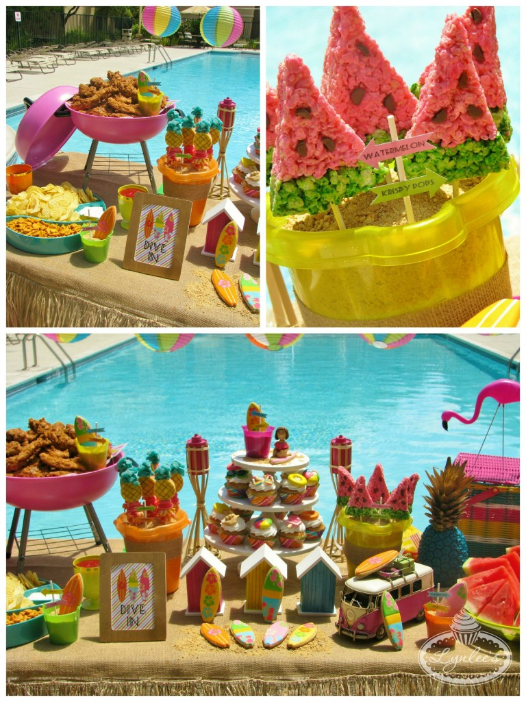 Endless Summer surf party food ~ Lynlee's