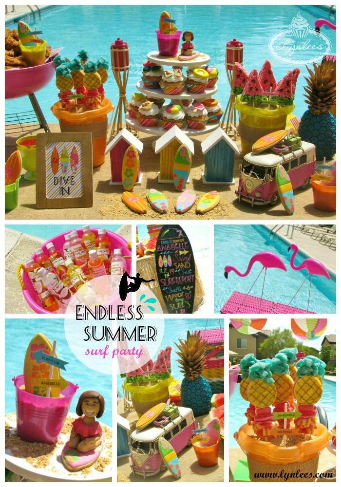 Endless Summer surf party inspiration ~ Lynlee's