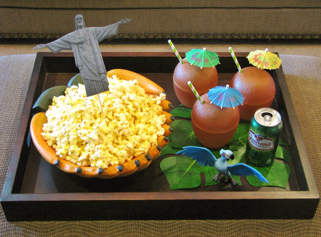 Rio 2 movie snacks ~ Lynlee's