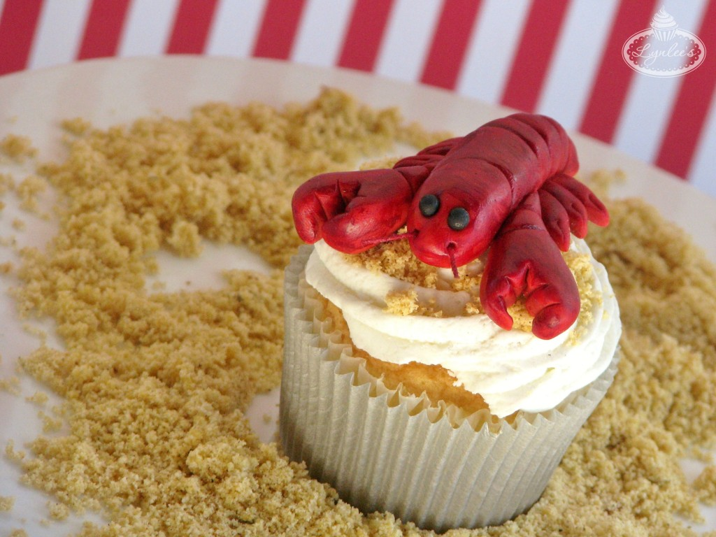 Lobster fondant tutorial ~ Lynlee's