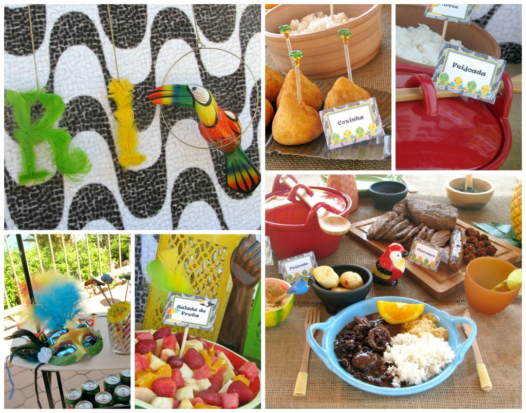 Rio party food ~ Lynlee's