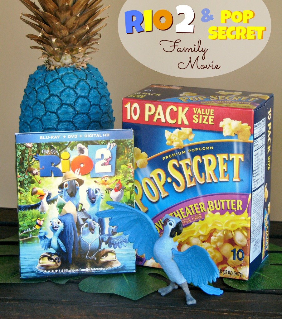 Rio 2 & Pop Secret Family Movie ~ Lynlee's