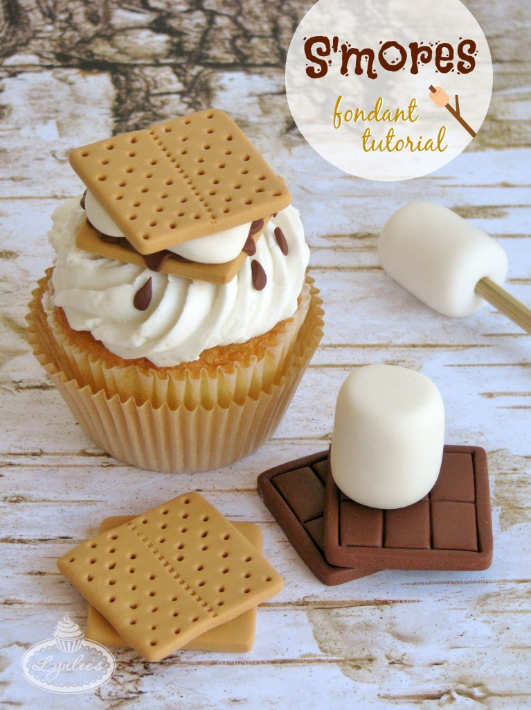 S'mores Fondant Tutorial ~ Lynlee's
