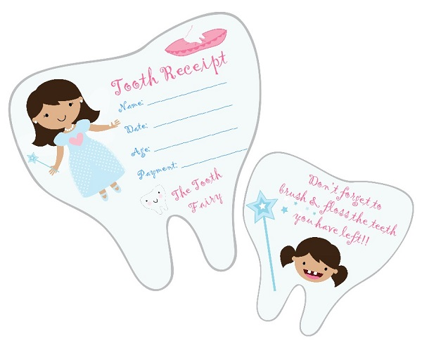 Tooth Fairy Notes ~ Lynlee's