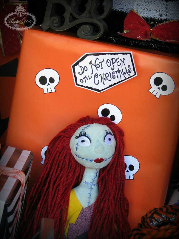 Nightmare Before Christmas Sally decor ~ Lynlee's