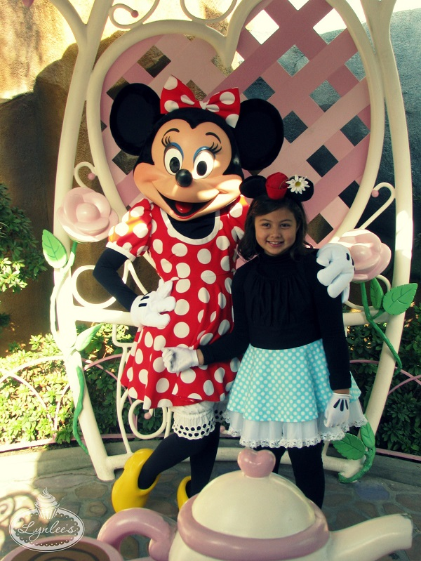 Minnie Mouse then & now ~ Lynlee's