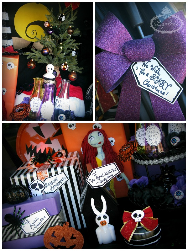 Nightmare before christmas halloween trunk or treat nightmare before christmas decor lynlees solutioingenieria Choice Image