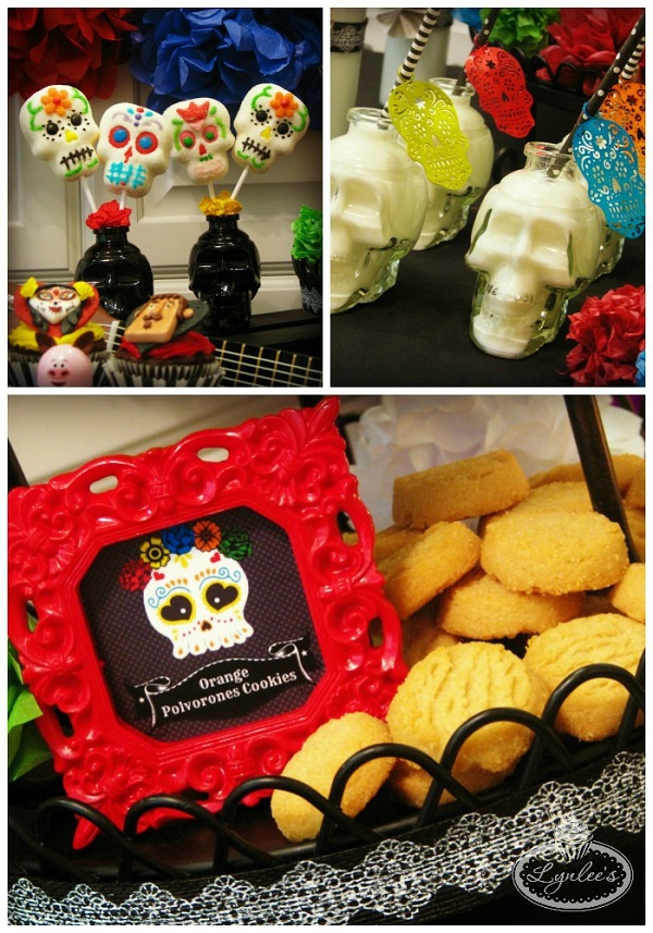 Day of the Dead treats ~ Lynlee's