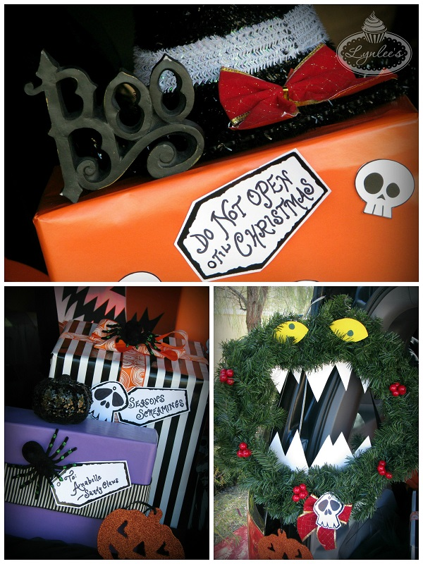 Nightmare Before Christmas gift decor ~ Lynlee's