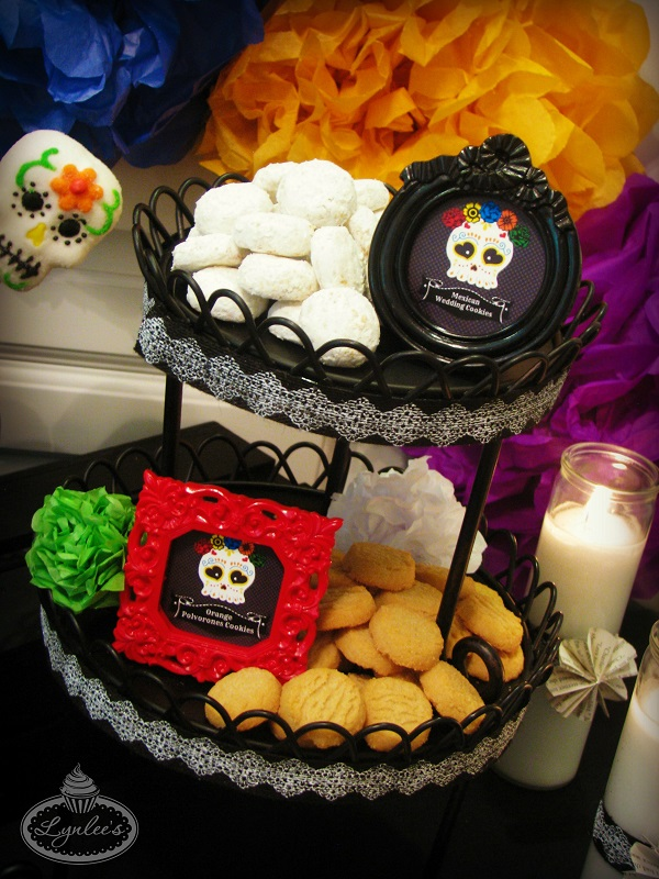 Day of the Dead cookies ~ Lynlee's