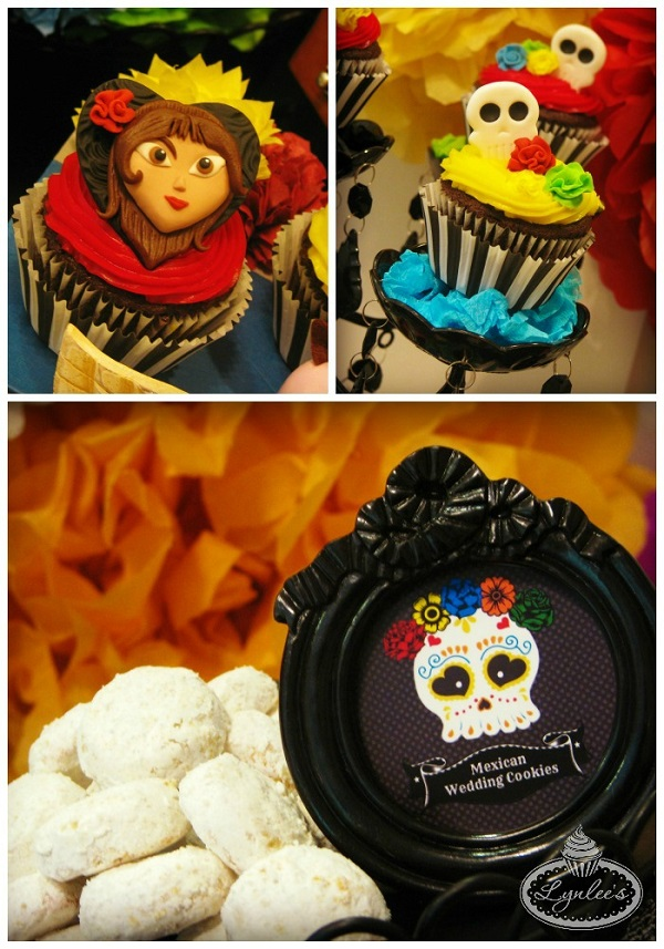Book of Life cupcakes & treats ~ Lynlee's