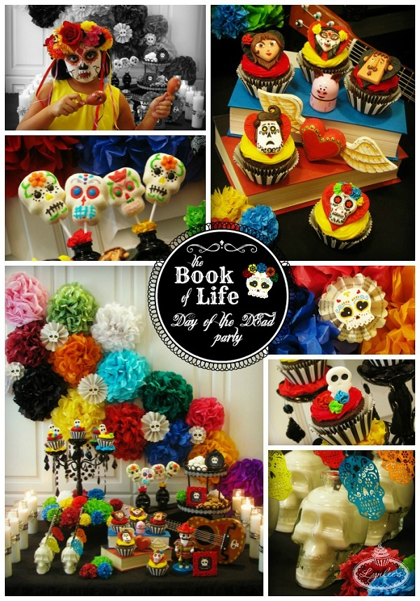The Book of Life/Day of the Dead party ideas ~ Lynlee's