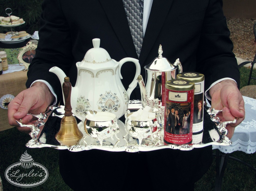 Downton Abbey tea party goods from Cost Plus World Market ~ Lynlee's