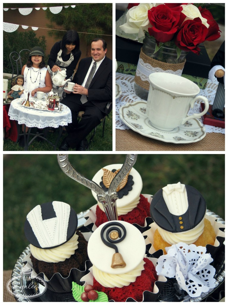 Downton Abbey tea & cupcake toppers ~ Lynlee's