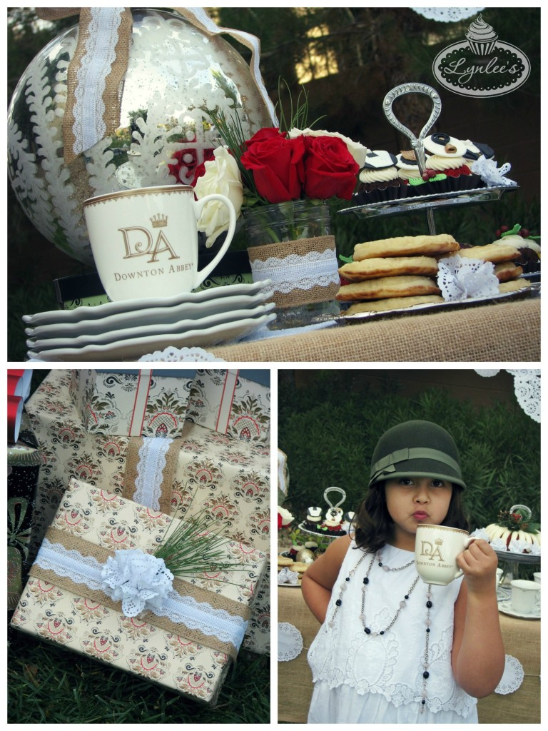 Downton Abbey tea and gifts ~ Lynlee's