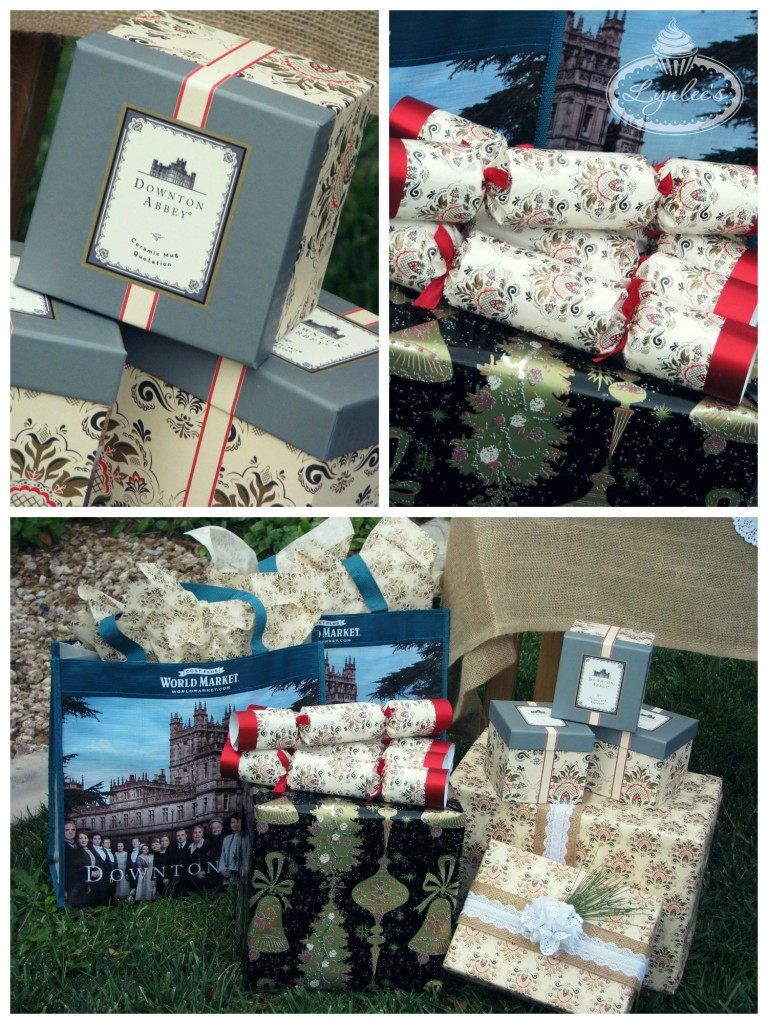 Christmas at Downton tea party favors ~ Lynlee's