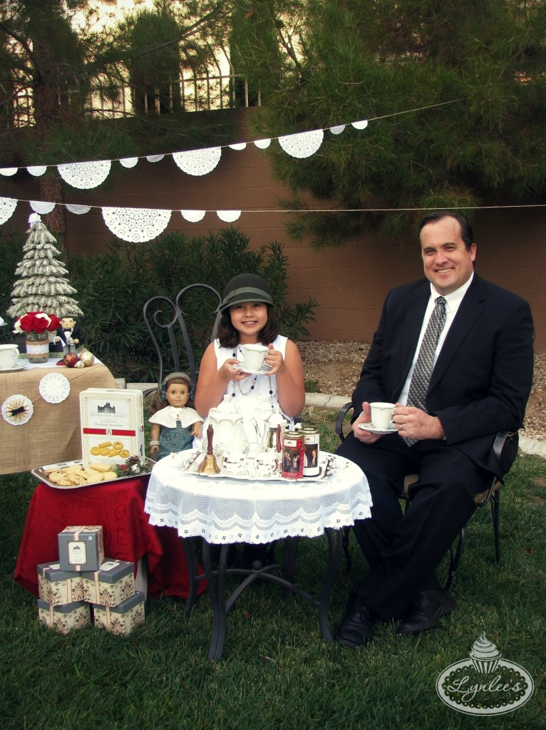 Downton Abbey tea party guests ~ Lynlee's