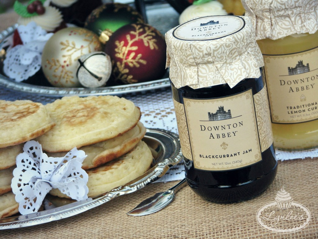 Downton Abbey crumpets and jam ~ Lynlee's