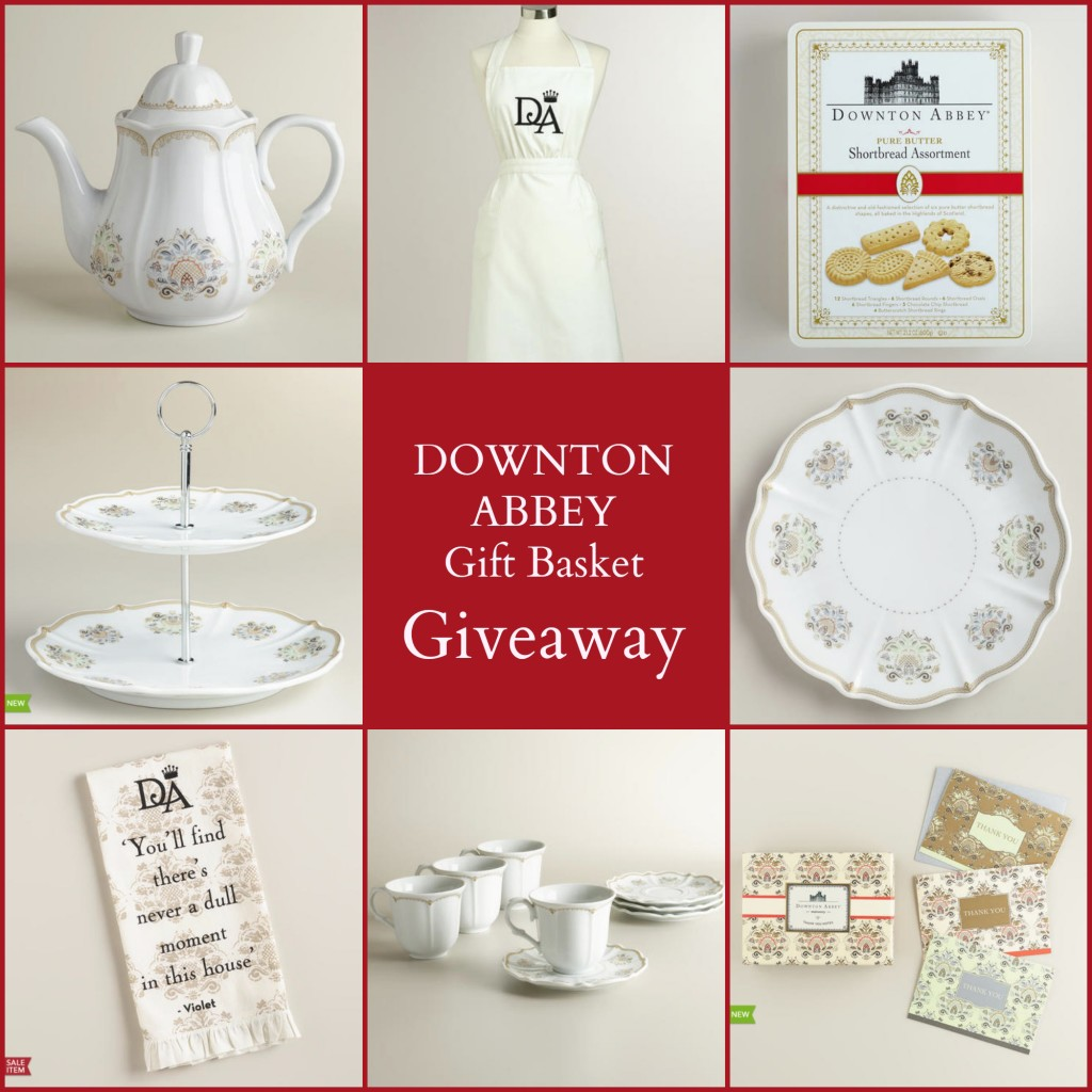 Downton Abbey Giveaway with Cost Plus World Market