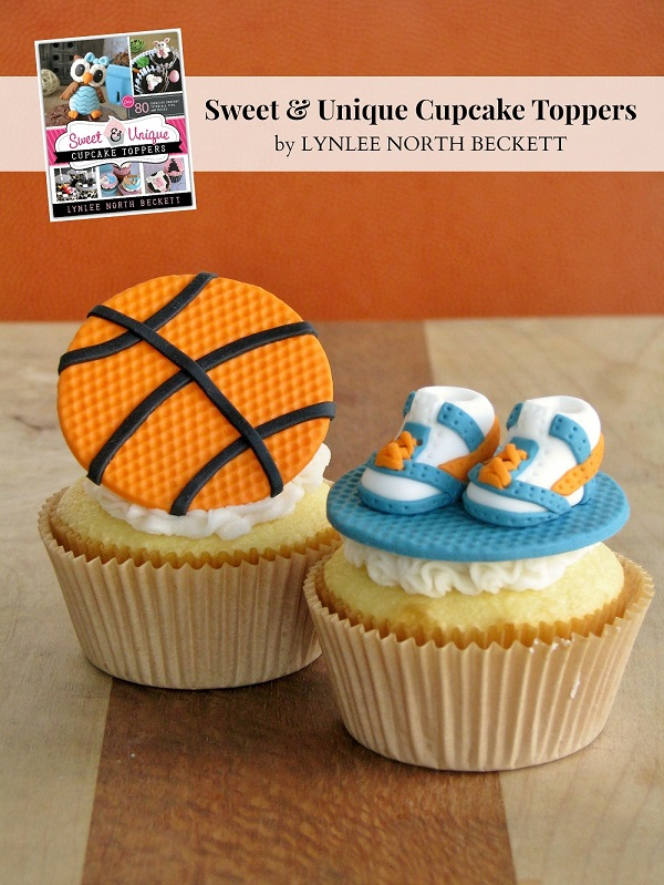 Nothin' But Net Basketball Fondant Topper Tutorial ~ Lynlee's