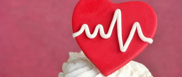 You Make My Heart Beat Valentine Fondant Topper Tutorial