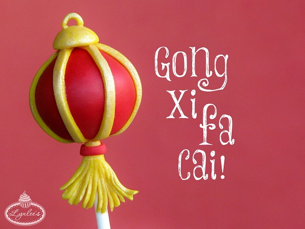 Happy Chinese New Year fondant topper tutorial ~ Lynlee's