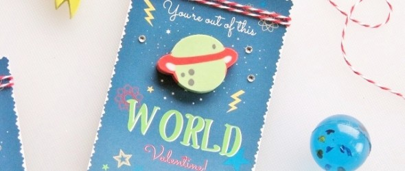 Out of this World Classroom Valentines