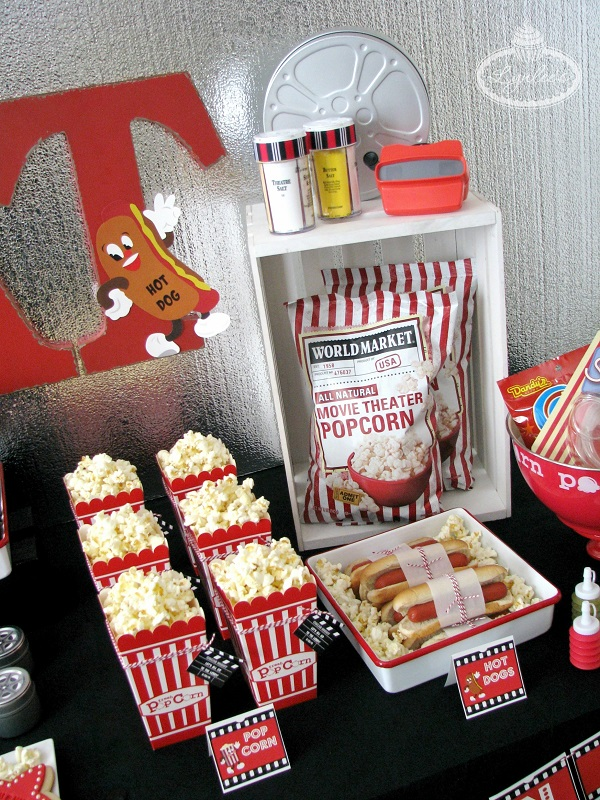 Retro Movie Night Party Ideas ~ Lynlee's