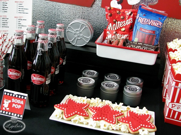 Retro Movie Night Goodies ~ Lynlee's