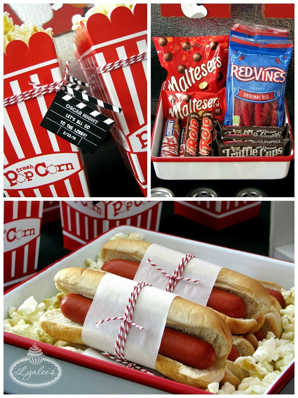 Retro Movie Night Concession Stand ~ Lynlee's