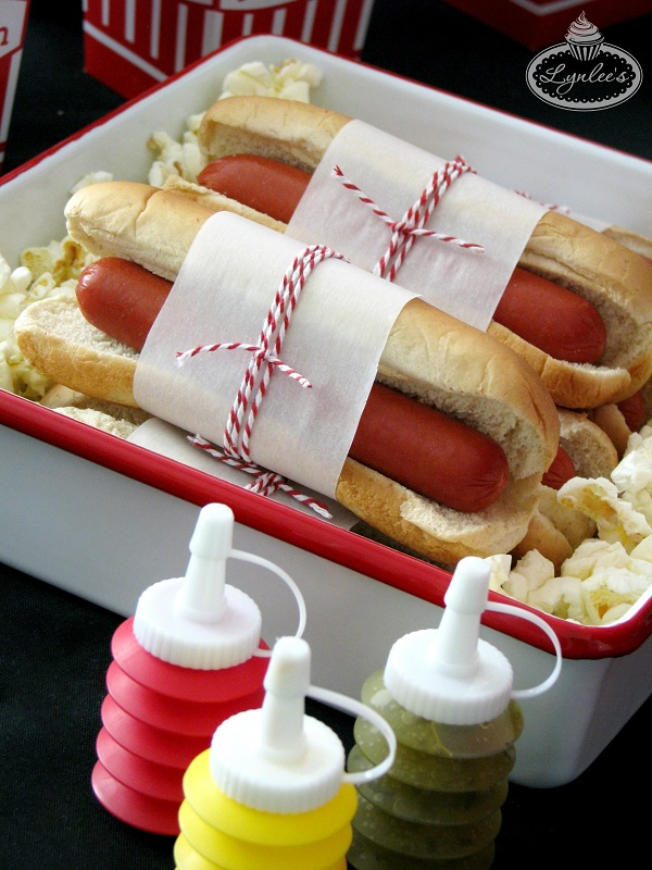 Retro Movie Night Concession Stand Hot Dogs ~ Lynlee's