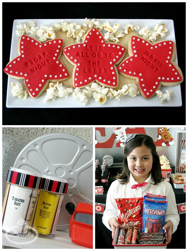 Retro Movie Night Concession Stand Snacks ~ Lynlee's