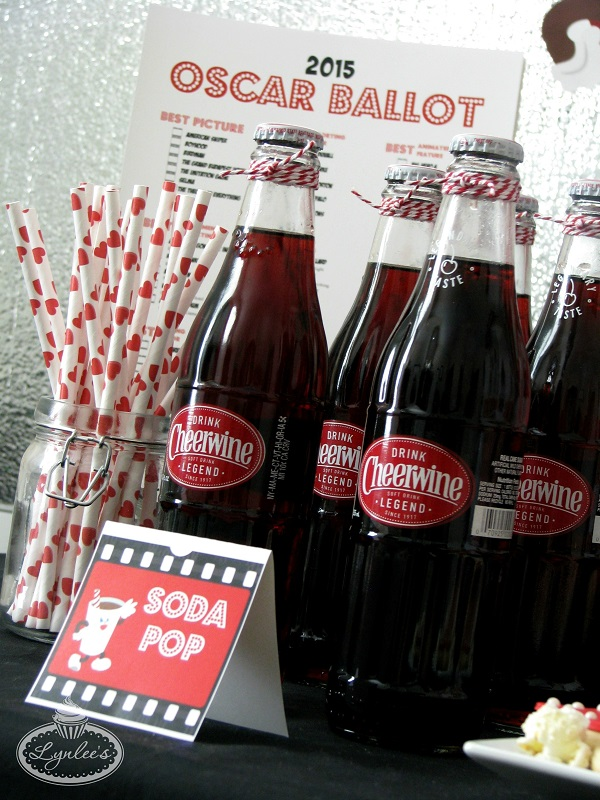 Retro Movie Night Concession Stand Drinks ~ Lynlee's
